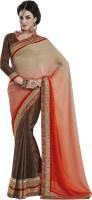 Melluha Embroidered Fashion Jacquard Saree(Multicolor)