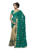 Suvastram Embroidered Fashion Chiffon Saree(Multicolor)