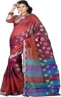 Ansu Fashion Embellished Banarasi Banarasi Silk Saree(Multicolor)