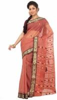Indianbeauty Printed Fashion Handloom Cotton Saree(Red)