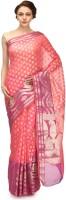 Bunkar Self Design Banarasi Cotton Saree(Multicolor)