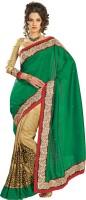 Chirag Sarees Self Design Fashion Cotton Saree(Multicolor)