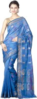 Chandrakala Printed Banarasi Art Silk Saree(Blue)