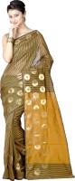 Chandrakala Woven Banarasi Art Silk Saree(Gold)