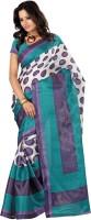 Indrani Striped Fashion Silk Saree(Multicolor)