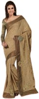 Indian Wear Online Printed Fashion Pure Chiffon Saree(Multicolor)