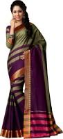 Gugaliya Self Design Bollywood Cotton Saree(Multicolor)