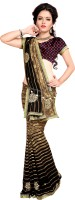 Khoobee Self Design, Printed Fashion Poly Georgette Saree(Multicolor)