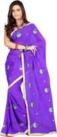 Ansu Fashion Self Design Fashion Georgette Saree(Blue)