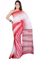 Hawai Printed Fashion Handloom Cotton Saree(Multicolor)