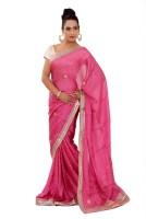 Shri Narayan Fashions Self Design Fashion Jacquard Saree(Pink)