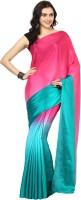 Aksara Self Design Daily Wear Crepe Saree(Multicolor)