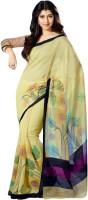 Sunaina Printed Daily Wear Synthetic Saree(Multicolor)