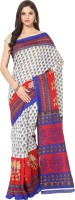 Fostelo Self Design Daily Wear Cotton Saree(Multicolor)