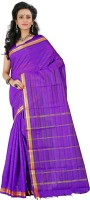 Vastrakala Self Design Fashion Art Silk Saree(Dark Blue)