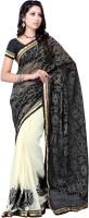 Suvastram Self Design Fashion Net Saree(Multicolor)