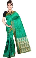 Anushree Saree Printed Fashion Chanderi Saree(Multicolor)