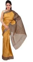 Indrani Printed Bollywood Silk Saree(Brown)
