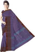 Javuli Woven Chettinadu Handloom Cotton Saree(Purple)