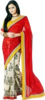 Sunaina Printed Fashion Synthetic Saree(Multicolor)