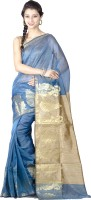 Chandrakala Printed Banarasi Art Silk Saree(Blue)