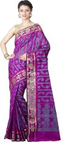 Chandrakala Printed Banarasi Art Silk Saree(Purple)