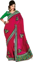 Chirag Sarees Self Design Fashion Chiffon Saree(Pink)