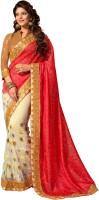 M.S.Retail Self Design Fashion Handloom Raw Silk Saree(Multicolor)