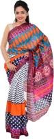 Indrani Printed Bollywood Silk Saree(Pink)