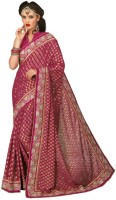 Chirag Sarees Self Design Chanderi Chanderi Saree(Multicolor)