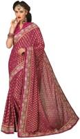 Chirag Sarees Self Design Chanderi Chanderi Saree(Multicolor)