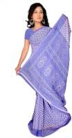 Jiya Self Design Fashion Poly Georgette Saree(Light Blue)