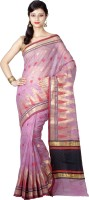 Chandrakala Woven Banarasi Cotton Saree(Pink)