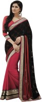 Indian Women By Bahubali Self Design Fashion Brasso Saree(Multicolor)