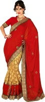 Chirag Sarees Self Design Fashion Jacquard Saree(Multicolor)