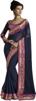 Indian Women By Bahubali Self Design Fashion Chiffon Saree(Multicolor)