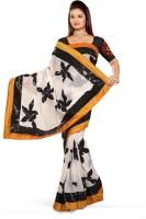 De Marca Printed Fashion Chiffon Saree(Multicolor)