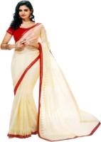 Sunaina Printed Chanderi Pure Silk, Raw Silk, Tissue Silk Saree(Multicolor)
