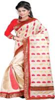 Ansu Fashion Self Design Chanderi Chanderi Saree(Multicolor)