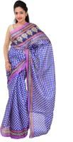 Indrani Printed Bollywood Silk Saree(Blue)