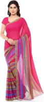 Anand Sarees Printed Daily Wear Georgette Saree(Pink)