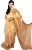 Javuli Woven Madurai Handloom Cotton Saree(Beige)