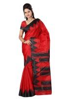 Indrani Printed Fashion Georgette Saree(Pink)