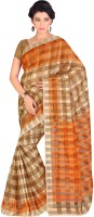 Gugaliya Embellished Bollywood Cotton Saree(Multicolor)