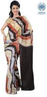 Tantuja Printed Fashion Handloom Silk Saree(Multicolor)