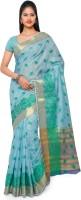 Varkala Silk Sarees Self Design Chanderi Chanderi Saree(Light Blue)