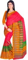 Gugaliya Solid, Paisley, Printed Fashion Cotton Saree(Multicolor)