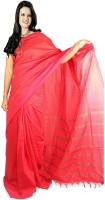 Javuli Woven Madurai Handloom Dupion Silk Saree(Red)