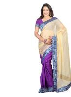 Indi Wardrobe Woven Banarasi Handloom Banarasi Silk Saree(Blue)