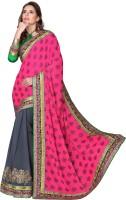 Ewows Solid Fashion Art Silk Saree(Multicolor)